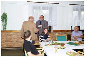 unsere Gäste … Bürgermeister der Gemeinde Barchfeld-Immelborn - R. Groß